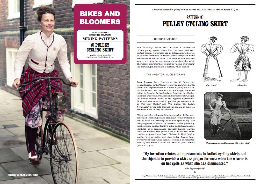 FREE cycle wear sewing patterns – Kat Jungnickel